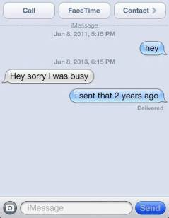 too busy text message